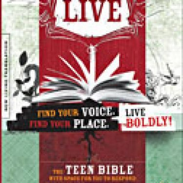 New Living Translation Live Teen Bible Paperback