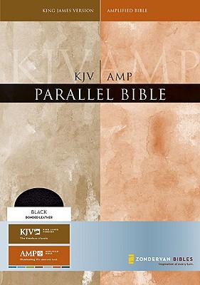 Parallel Bible KJV AMPLIFIED Black Bonded Leather