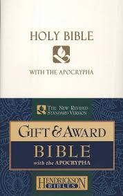 Holy Bible with the Apocrypha The New Revised Standard Version White Imitation Leather