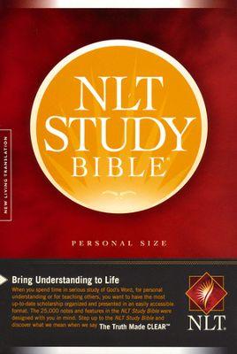 NLT Study Bible Paperback