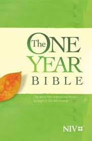 The One Year Bible NIV Paperback