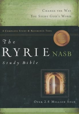 The Ryrie Study Bible New American Standard Bible Hard Cover