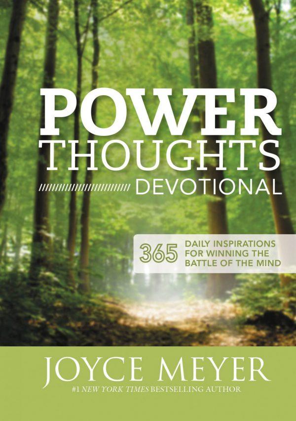 Power Thoughts Devotional Joyce Meyer
