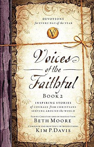 VOICES OF THE FAITHFUL BOOK 2 BETH MOORE ZOE CHRISTIAN BOOKSHOP