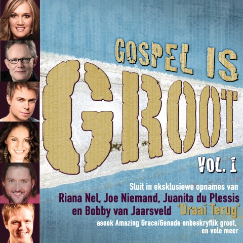 gospel is groot vol 1 cd