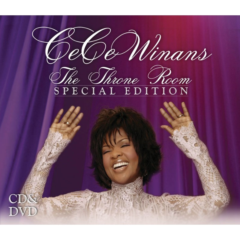 Cece Winans Live Throne Room Cd