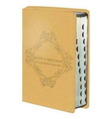 Mawu a Mulungu: Mu Chichewa Chalero : Chichewa Bible luxury leather look gold